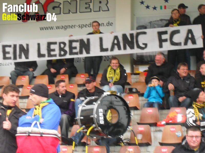 Saisonstart des FC Amberg in Aschaffenburg.