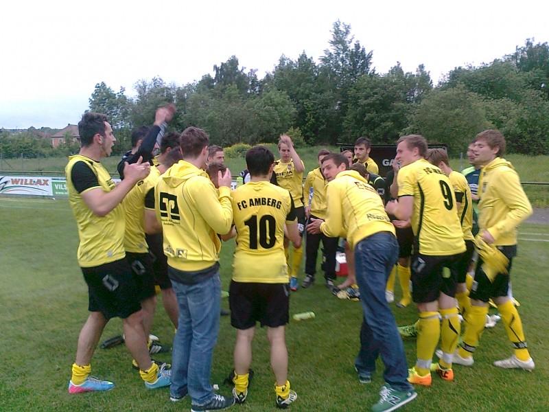 Die U23 des FC Amberg ergattert im ersten Spiel den ersten Punkt in Grafenwöhr.