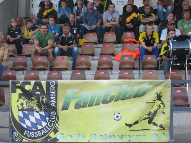 FC Amberg - FSV Erlangen/Bruck 3-0. Endlich, die ersten 3 Punkte im Stadion am Schanzl sind eingefahren.