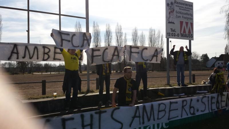 """""""Gefährliches Spiel"""" FC Amberg gewinnt 1:0 in Erlangen."""