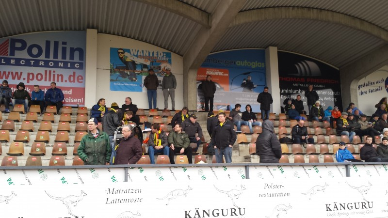 Auch im Spitzenspiel siegt der FC Amberg  mit 2:0 gegen den starken Jahn Forchheim