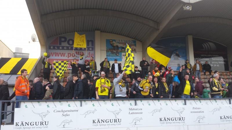 FC Amberg - DJK Ammerthal 2:0. Amberg ist Tabellenführer !!!!