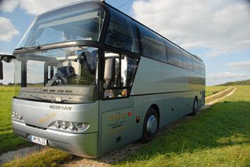 """Die Busfahrt zum Relegationsspiel nach Heimstetten ist """"eingeloggt"""""""