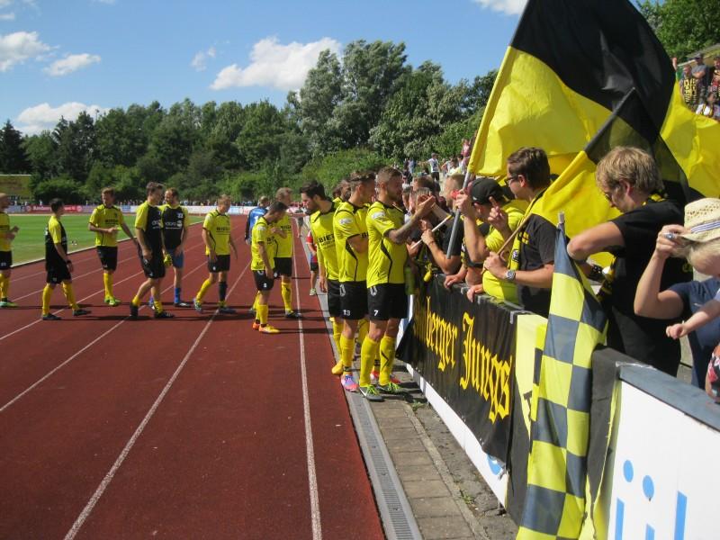 FC Amberg läßt nicht locker und besiegt die Clubreserve mit 4:2