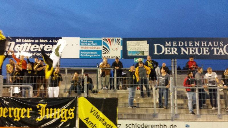 Totopokal: Weiden raus Amberg weiter. FC siegt in Weiden mit 2:0