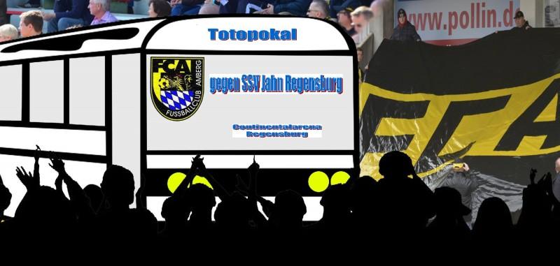 Runde 3 im Totopokal. SSV Jahn Regensburg - FC Amberg.  Ist auf den 09.09 verlegt.
