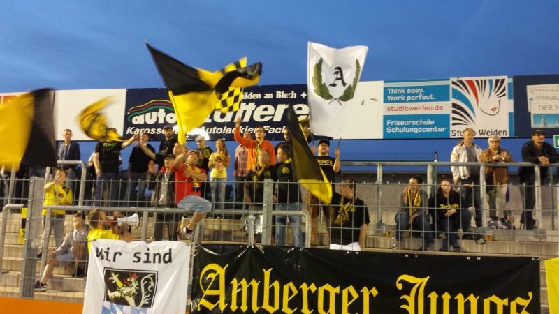Zweite Heimniederlage. FC Amberg - SpVgg Greuther Fürth II  1:3