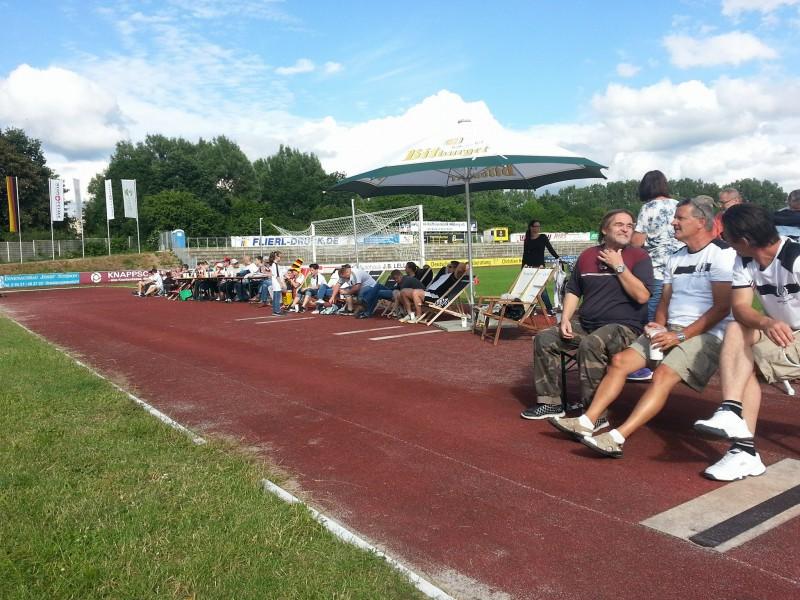 Public Viewing im FCA-Stadion