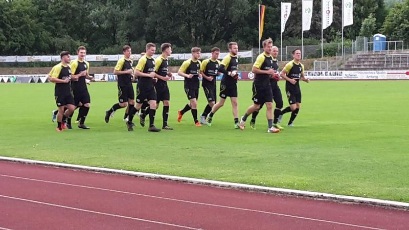 FC Amberg zerlegt Weiden II