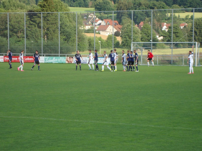 FC Amberg gewinnt Lokalderby gegen SVR