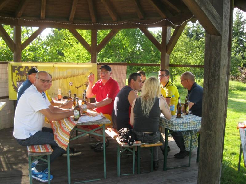 Fanclub veranstaltete gemütliches Sommerfest