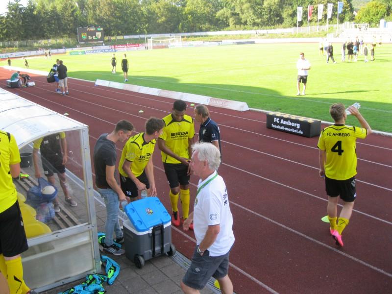 FC Amberg fährt gegen den 1. FC Sand den 4. Sieg ein. 3:0