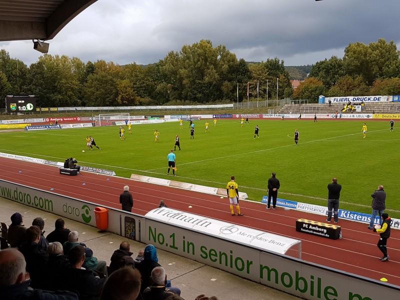 FC Amberg siegt 1:0 gegen Eltersdorf