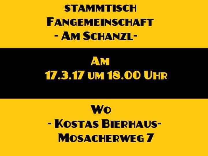Nächster Fanstammtisch: Koni Konheiser und Gerhard Linz laden ein.
